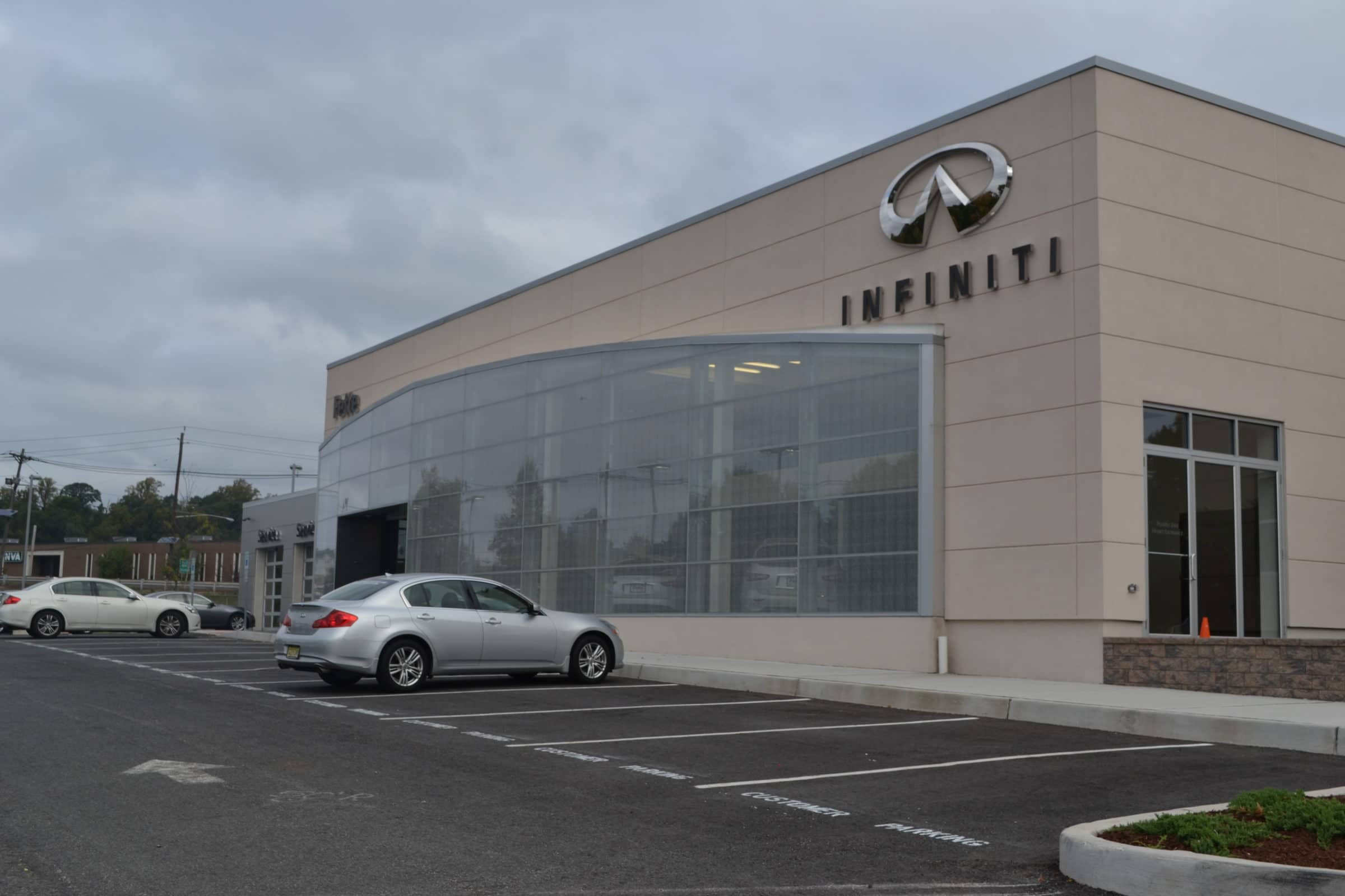 Commercial Masonry Project in Passaic County NJ - Infinity Dealership by McEntee Construction