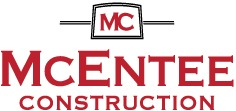 MCENTEE CONSTRUCTION Logo
