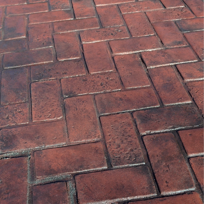 Herringbone Used Brick