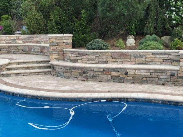 Retaining Wall in Ramsey NJ by McEntee Construction