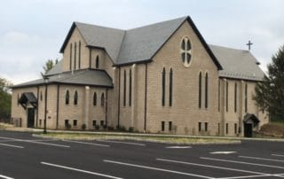 commercial masonry project for a church in franklin nj