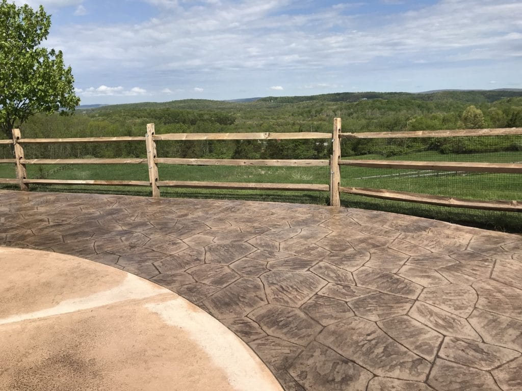 Stamped Concrete Patio In Sparta New Jersey