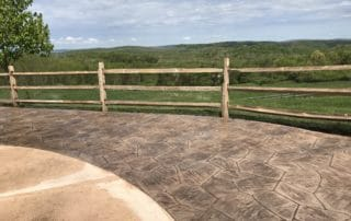 stamped concrete patio in sparta nj